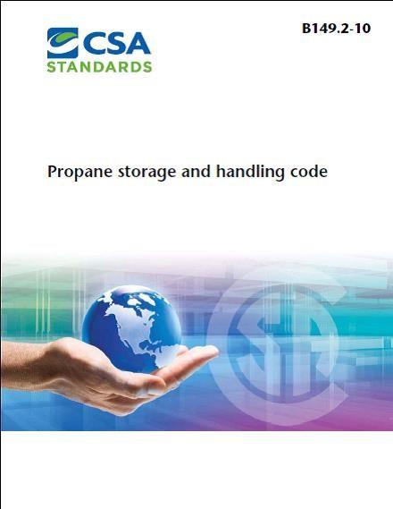 Changes in 2015 Version of B149 2 Propane Storage & Handling Code